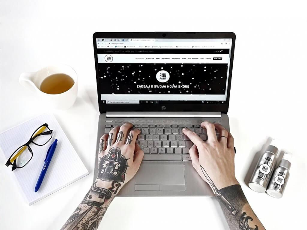 skin project blog